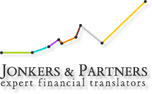 Logo de Jonkers and Partners, traducteurs financiers experts